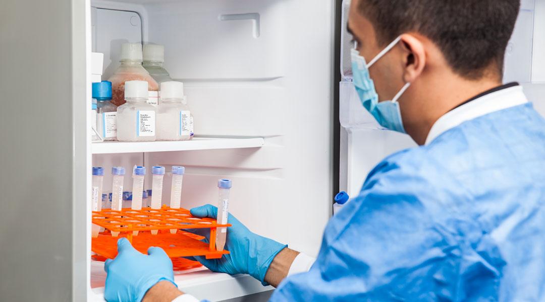 Storage of medicine, vaccines - temperature monitoring - Flextrack
